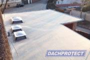 EPDM DAchbahn verlegeung
