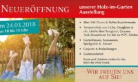 Frühlingsfest im Holz-Zentrum Luhmann in Celle