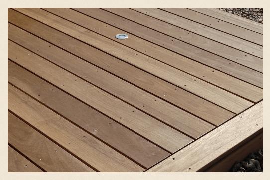 Bild Holz im Garten Terrassendiele Guyana Teak