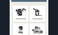 Festool Order App Einführung
