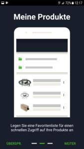 Festool Order App Einführung 2