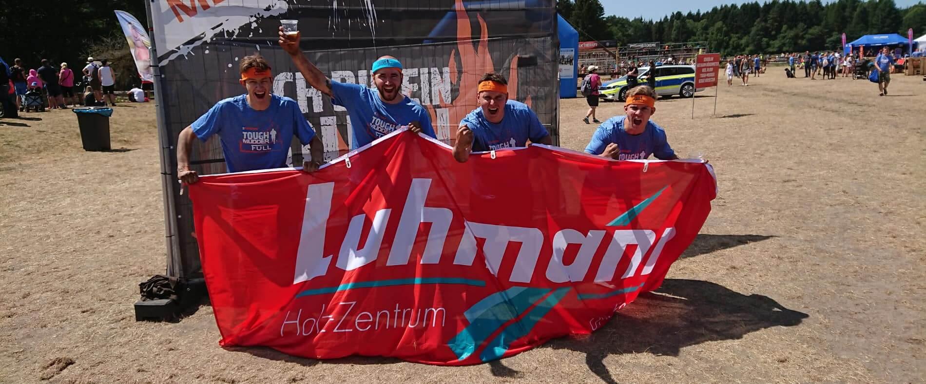 Luhmann Tough Mudder Teilnehmer