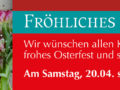 Luhmann Öffnungszeit zum Osterfest