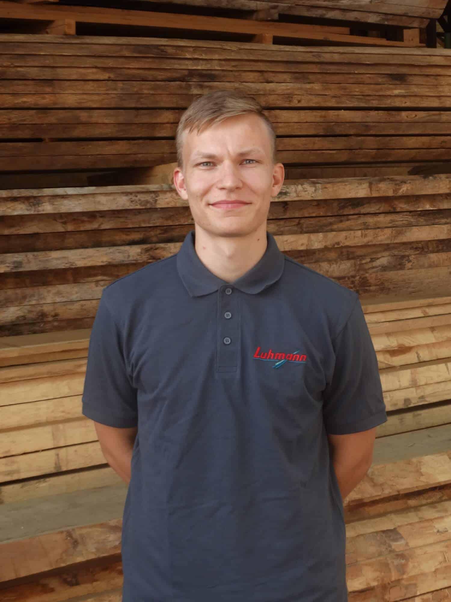 Stefan Zorn - 22 - Auszubildender Kaufmann im Groß und Außenhandel