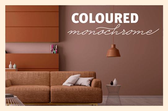 dekorkollektion 2020 coloured monochrome