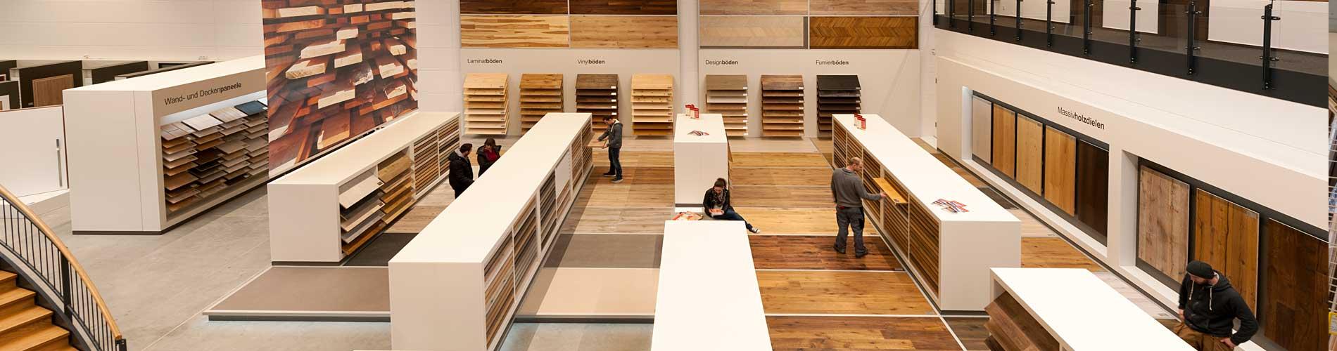 Luhmann Braunschweig Austellung Holz Fußboden