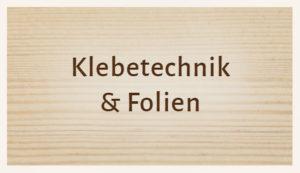 Luhmann Sortiment: Klebetechnik und Folien