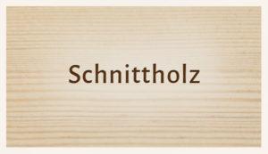Luhmann Sortiment: Schnittholz